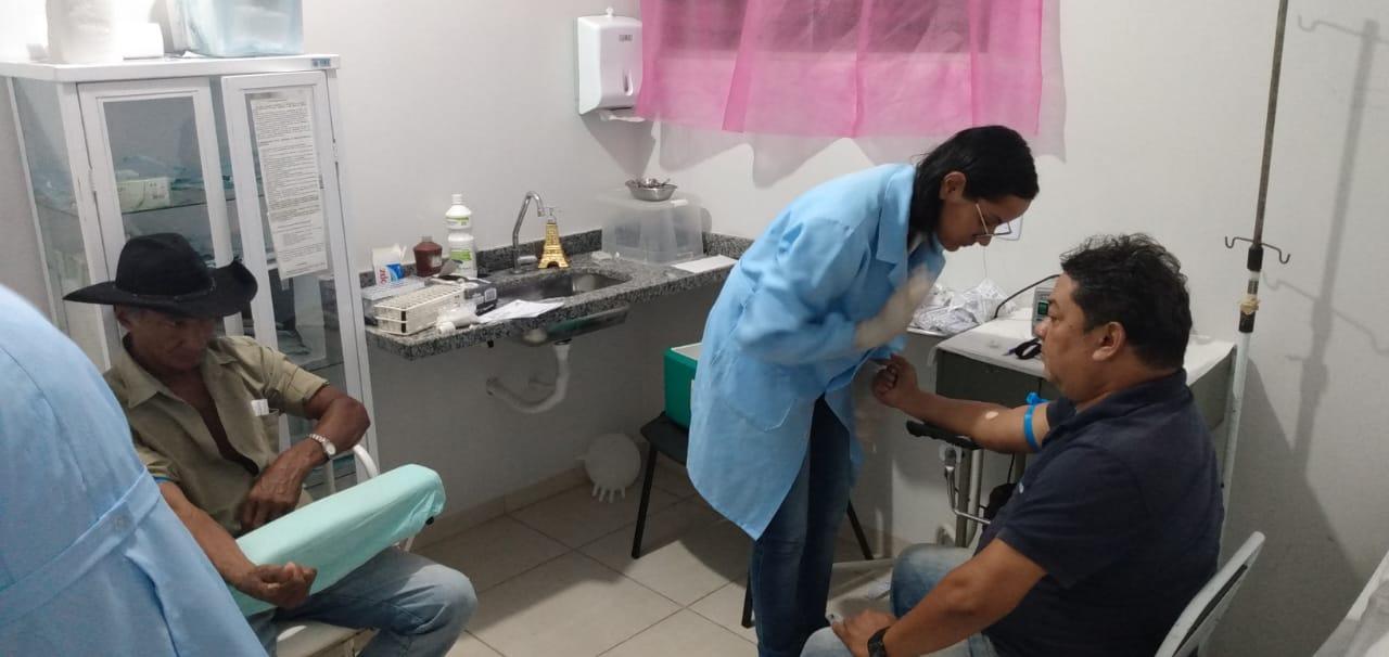 Saúde de Tabocão abre campanha Novembro Azul