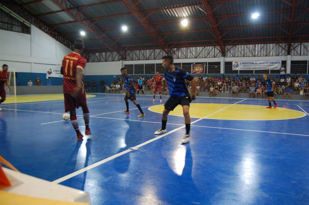 Cinco jogos marcaram a abertura oficial da Copa Natal de Futsal de Lagoa da Confusão