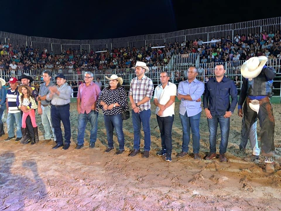 Em Novo Acordo, Wanderlei Barbosa participa de I Rodeio Show e visita Ponte Alta do Tocantins