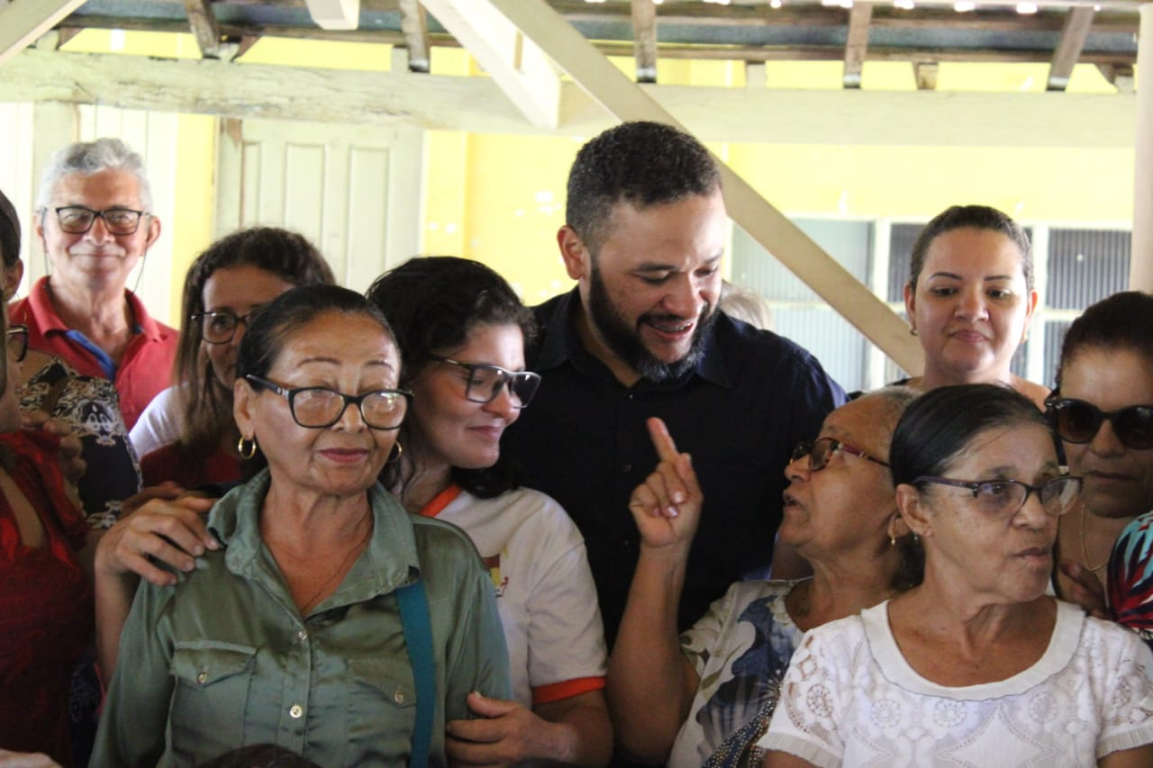 Idosos do SCFV de Pium visitam Cristalândia e participam de café da manhã com prefeito Cleiton Batatinha