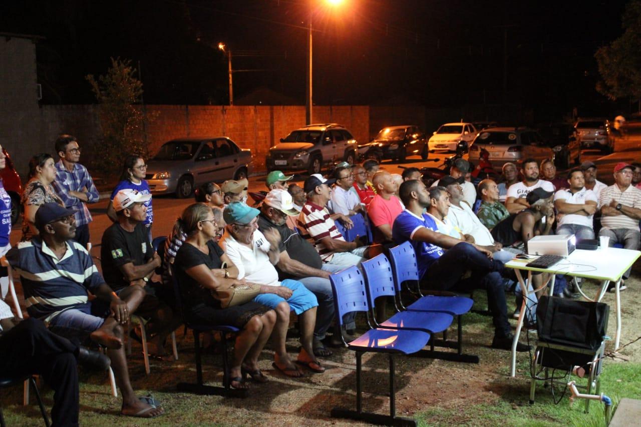 Prefeitura de Cristalândia realiza ação alusiva à campanha Novembro Azul