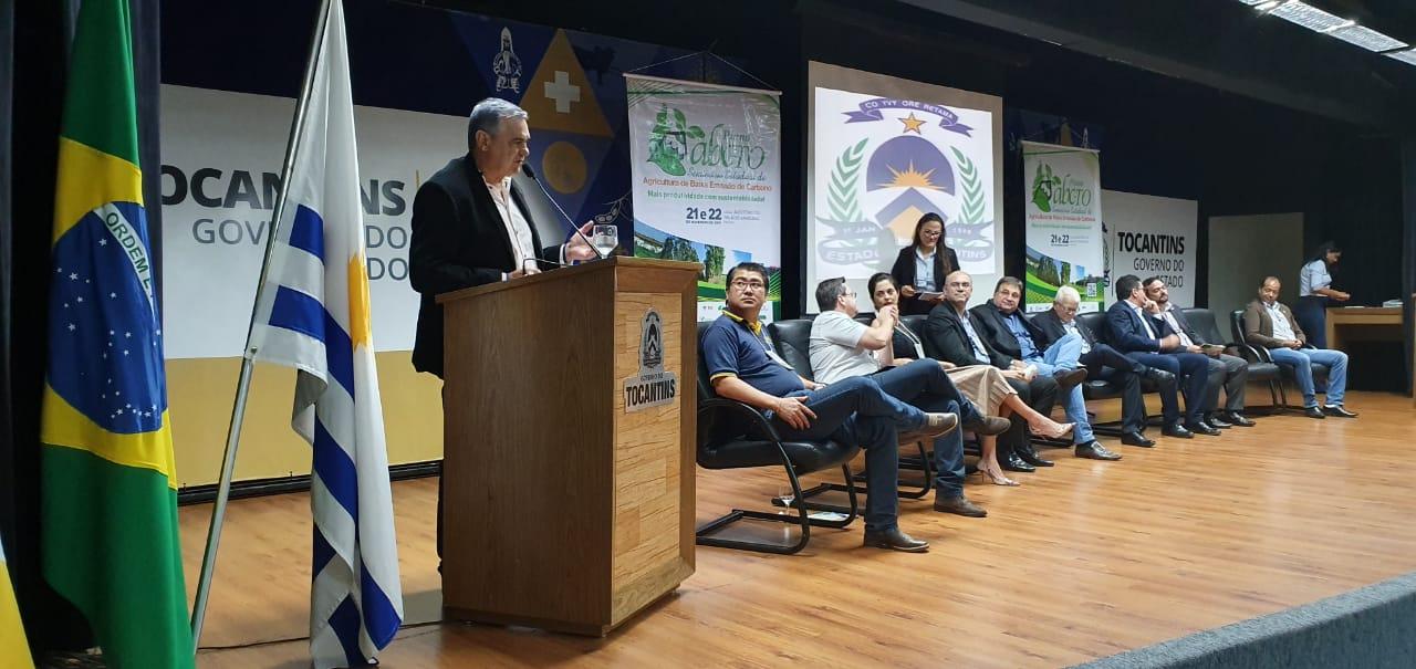 SENAR apresenta resultados do Programa ABC Cerrado durante o Seminário Estadual de Agricultura de Baixa Emissão de Carbono