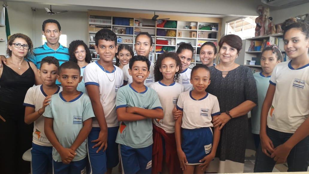 ETI Padre Josimo recebe a 18° edição do concurso 'Declamadores de Poesias'