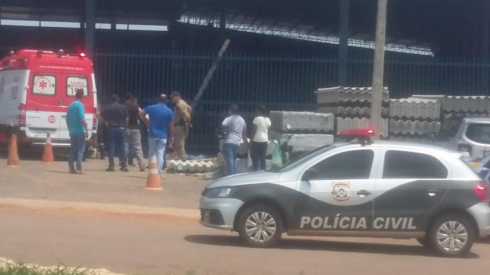 Eletricista morre, em Luzimangues, após sofrer choque elétrico enquanto trabalhava