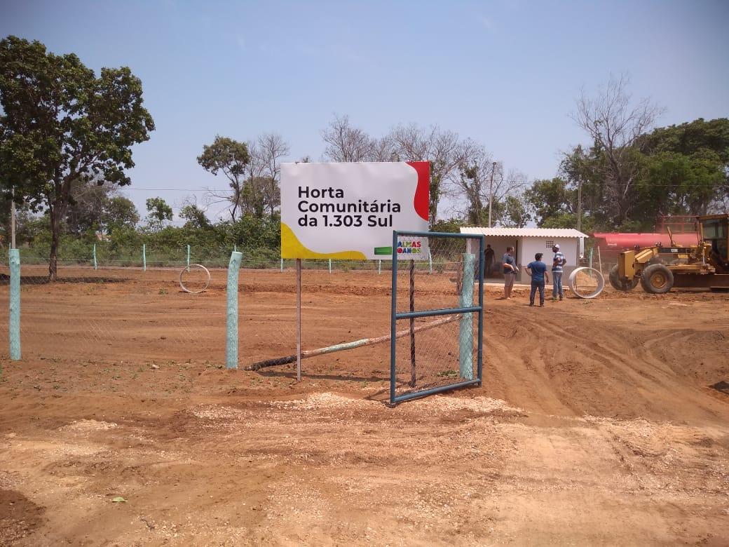 Horta Comunitária da Arso 131 está em fase de conclusão