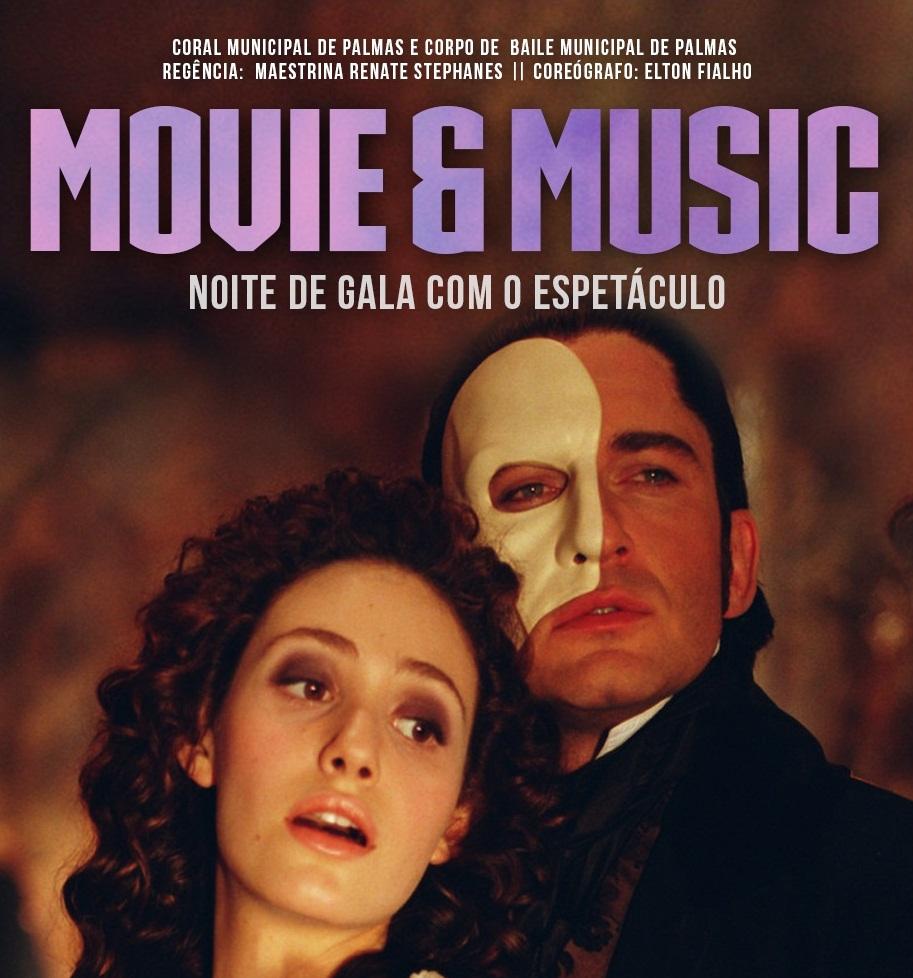 Cinema e música inspiram espetáculo do Coral e Corpo de Baile Municipal