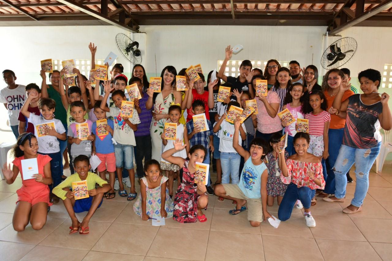 Crianças atendidas pelo CRAS participam de Roda de Conversa sobre o ECA