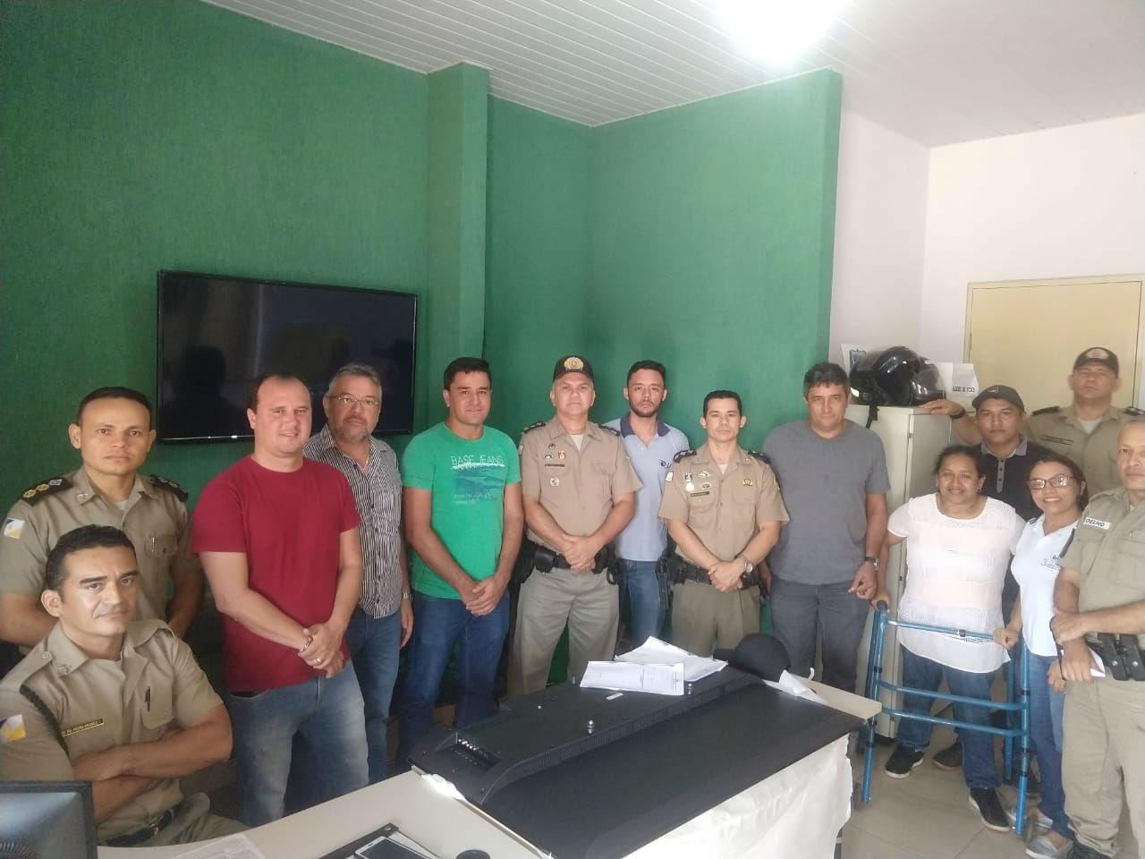 CONSEG e 5ª CIPM dão início à instalação de Video Monitoramento em Tocantinópolis