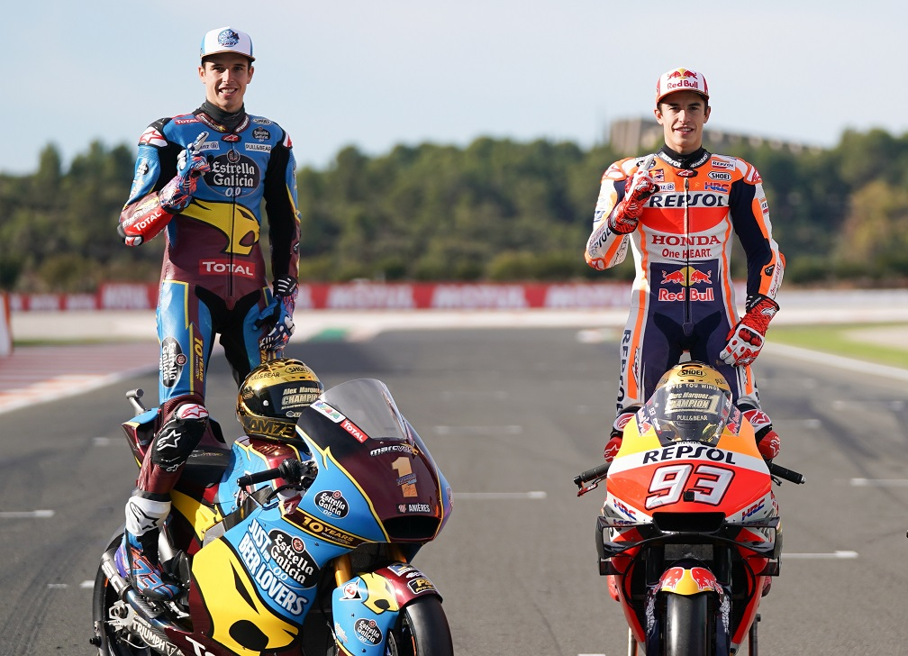 Alex Márquez se junta ao irmão Marc Márquez na Repsol Honda Team para a MotoGP 2020
