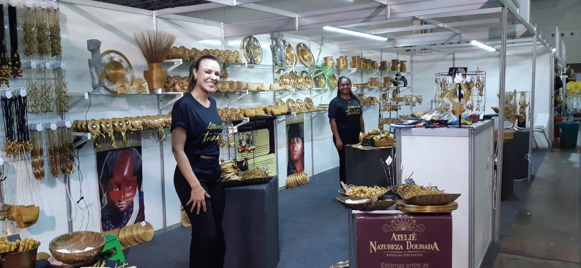 Artesãos do Capim Dourado participam de Feira Nacional em BH