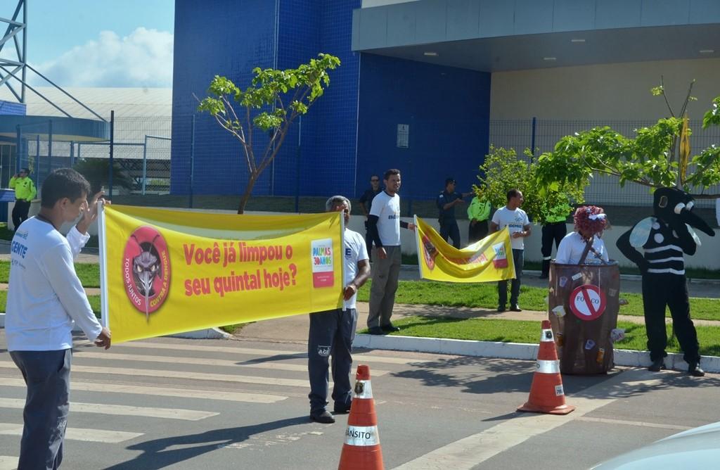 """Dia """"D"""" encerra Semana de combate ao Aedes"""