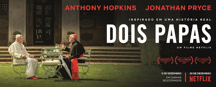 'Dois Papas', filme de Fernando Meirelles, é destaque da programação do Cine Cultura em Palmas