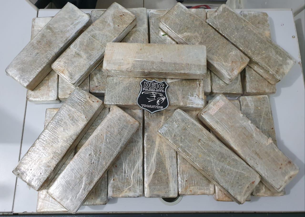 Polícia Civil prende traficante e apreende de 25 quilos de drogas em Gurupi