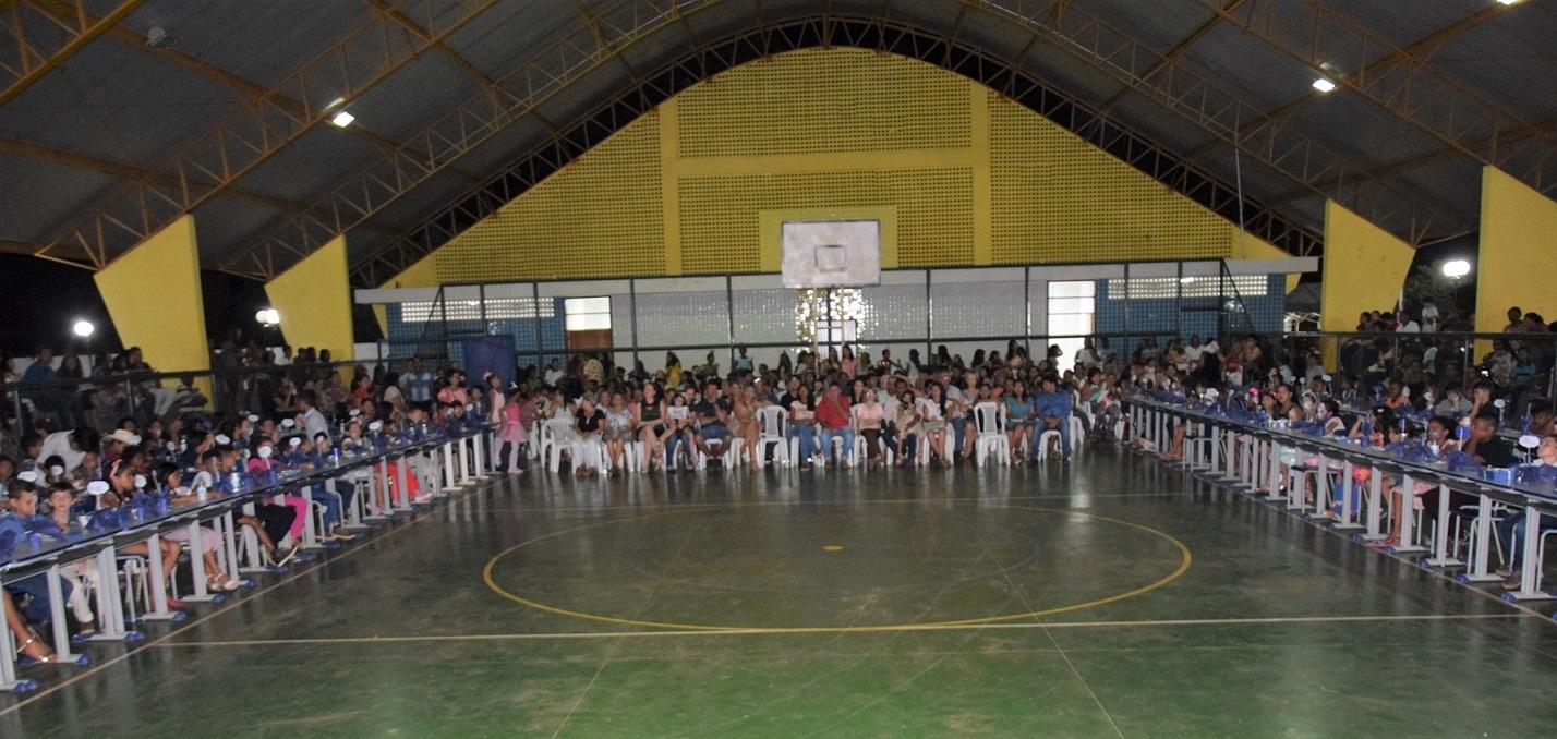 Escola Municipal Aristeu Camargo realiza 'Projeto Formando Escritores' em Caseara