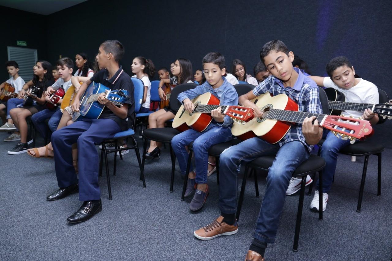 Recital musical dos alunos da Secult emociona público em Gurupi