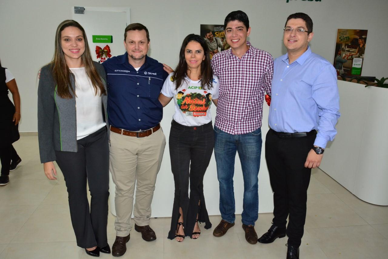 Vice-Prefeito Celso Morais participa do 1º Café com Investidores do Sicred em Paraíso