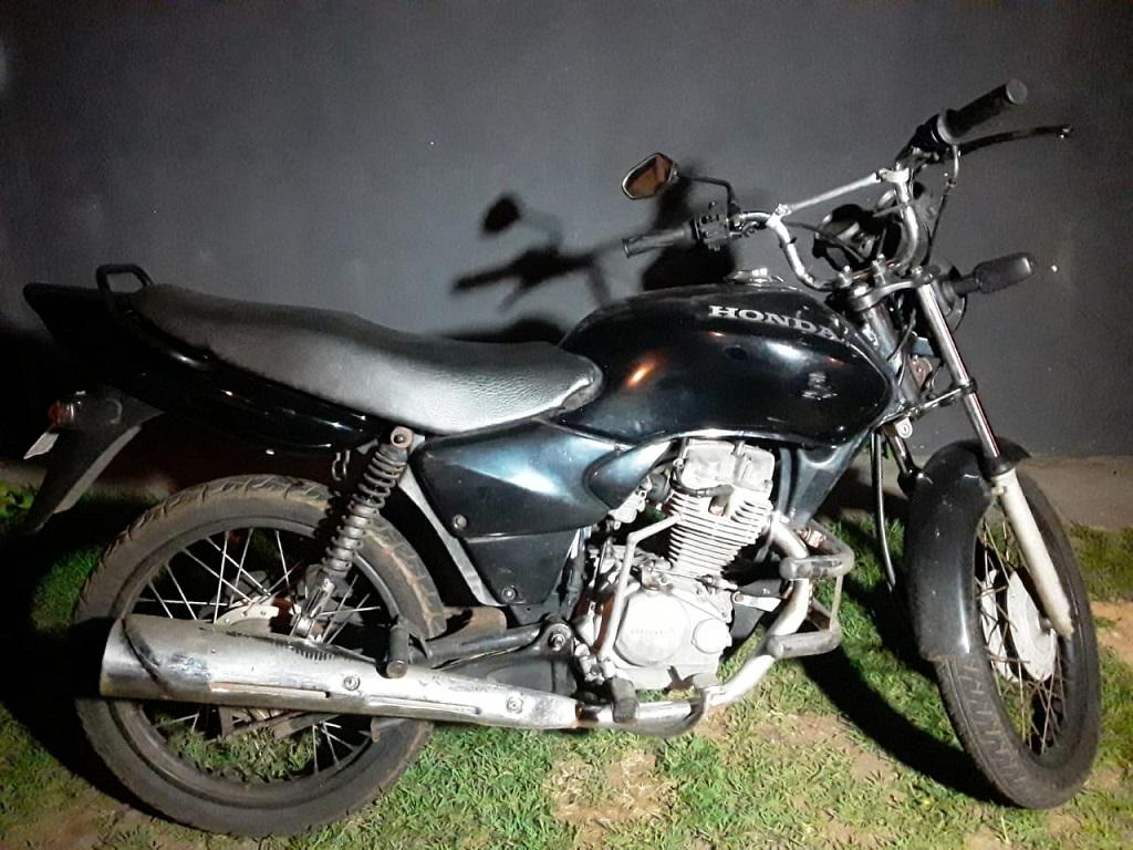 Polícia Militar prende homem por receptação e recupera em Araguaína moto furtada