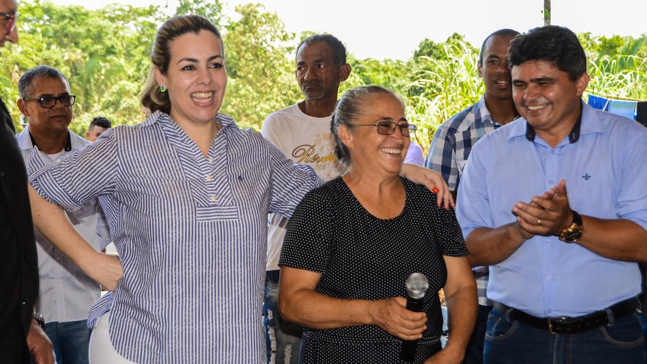 Taquaruçu recebe R$ 782 mil em infraestrutura viária