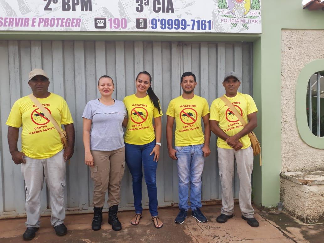 Polícia Militar realiza no 2º BPM operação limpeza de combate ao Aedes Aegypti