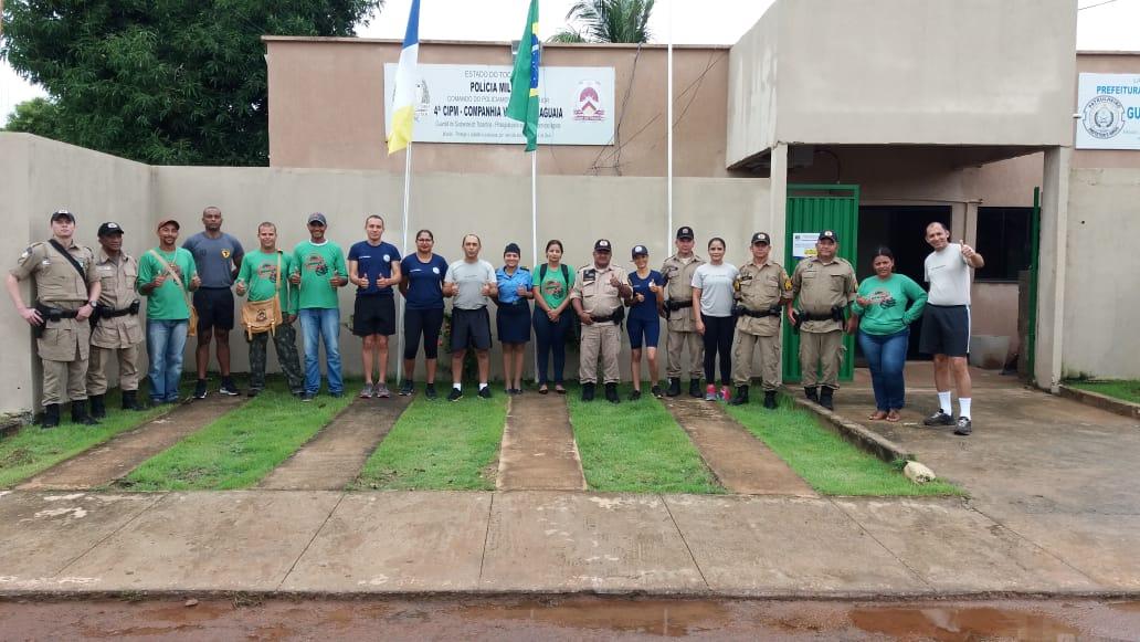 Combate ao mosquito da dengue é realizado pela 4ª CIPM em parceria com Prefeitura de Lagoa da confusão