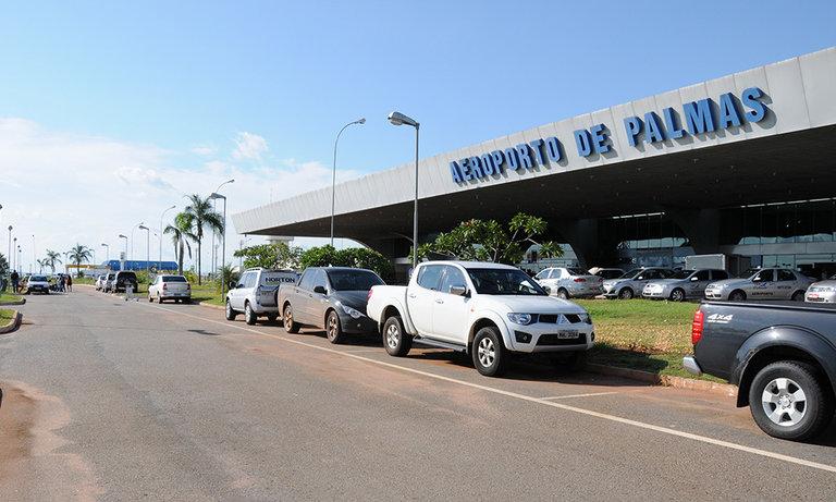 Mala abandonada no aeroporto de Palmas mobiliza polícia e esquadrão antibombas