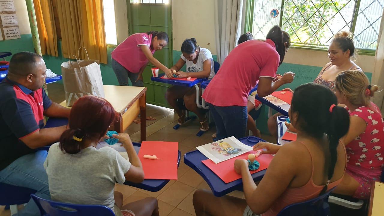Reeducandas de Palmas acreditam no artesanato como forma de superar o cárcere e ressocializar