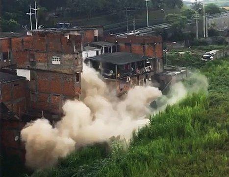 Prédio de cinco andares desaba em Salvador; veja vídeo