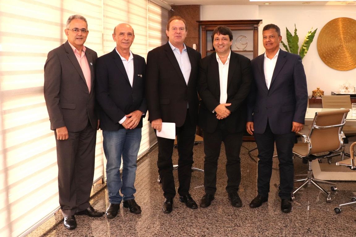 Governador recebe federações para dialogar sobre complementação de alíquota de ICMS
