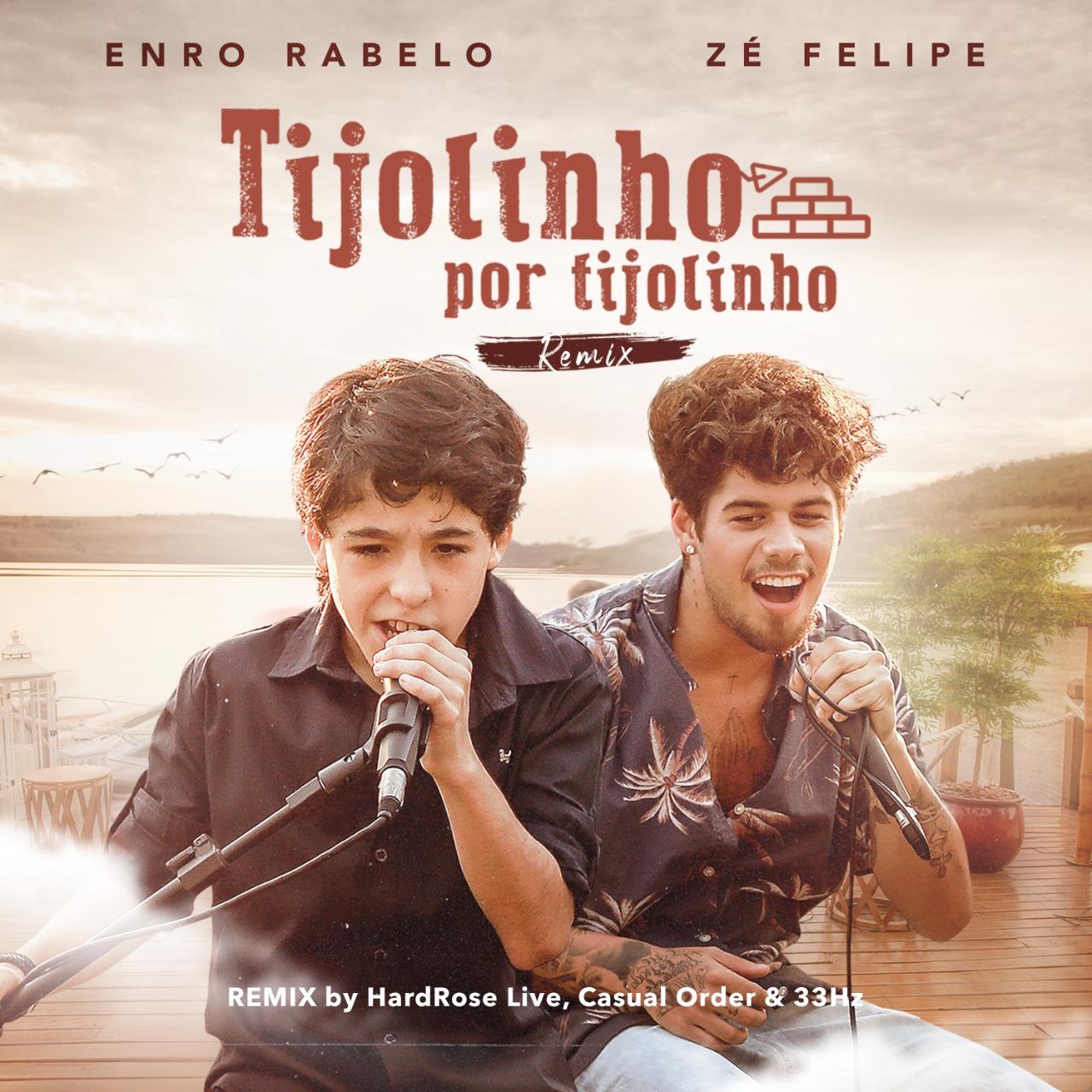 """""""Tijolinho por Tijolinho"""", de Enzo Rabelo, ganha versão remix"""