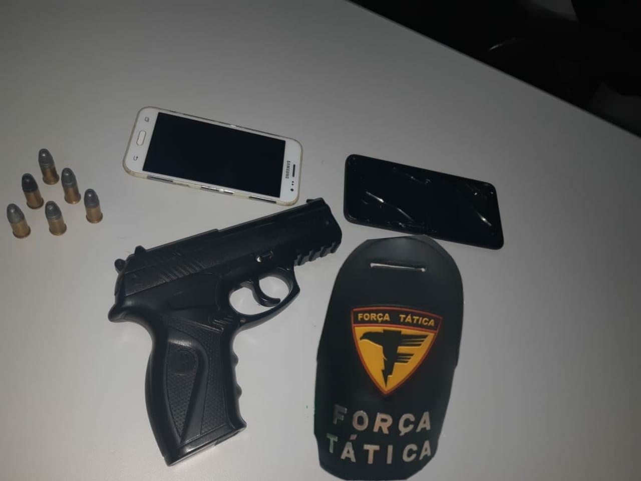Polícia Militar, em conjunto com a Polícia Civil, evita roubo e prende suspeitos em Paraíso