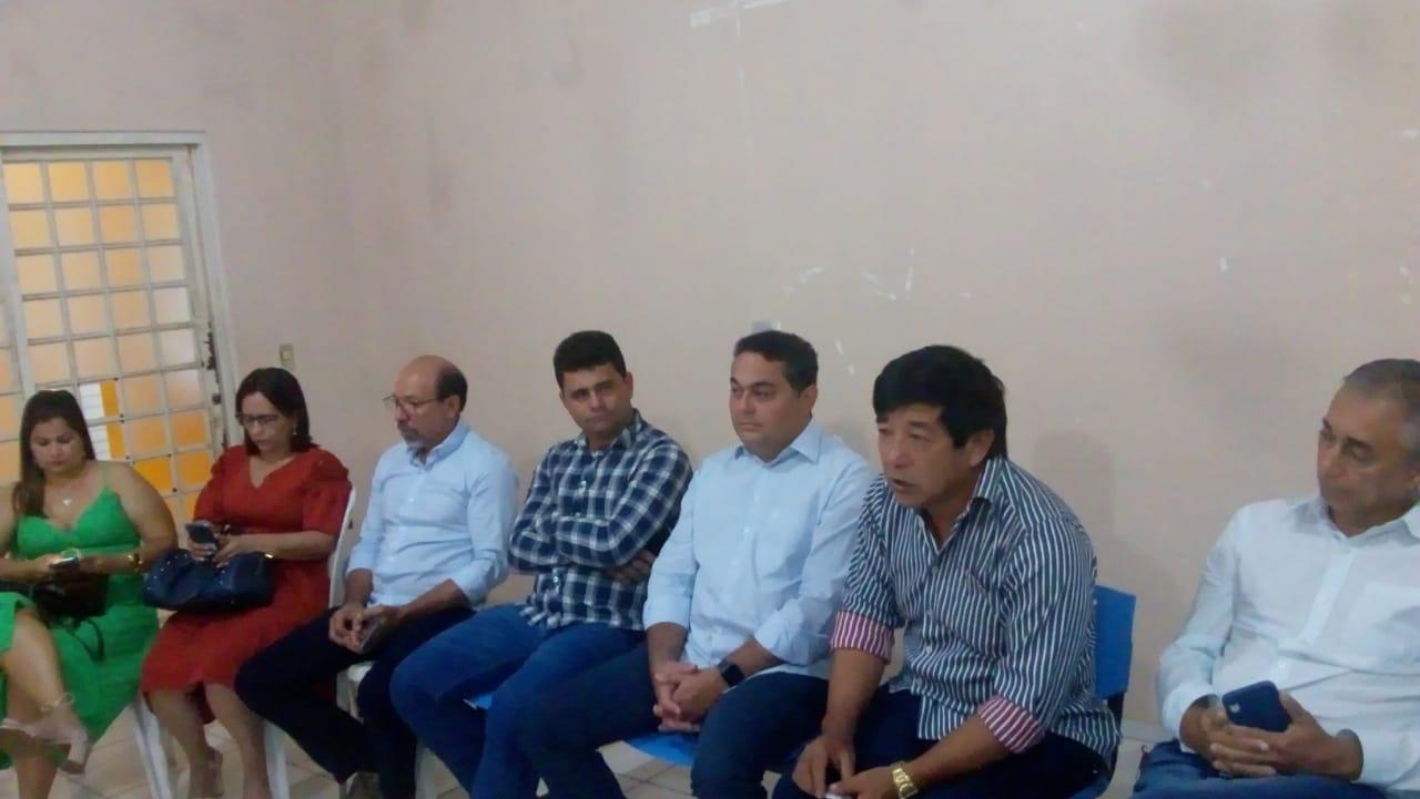 Prefeito de Tabocão se reúne com autoridades em Alto Parnaíba (MA) pela conclusão da BR 235
