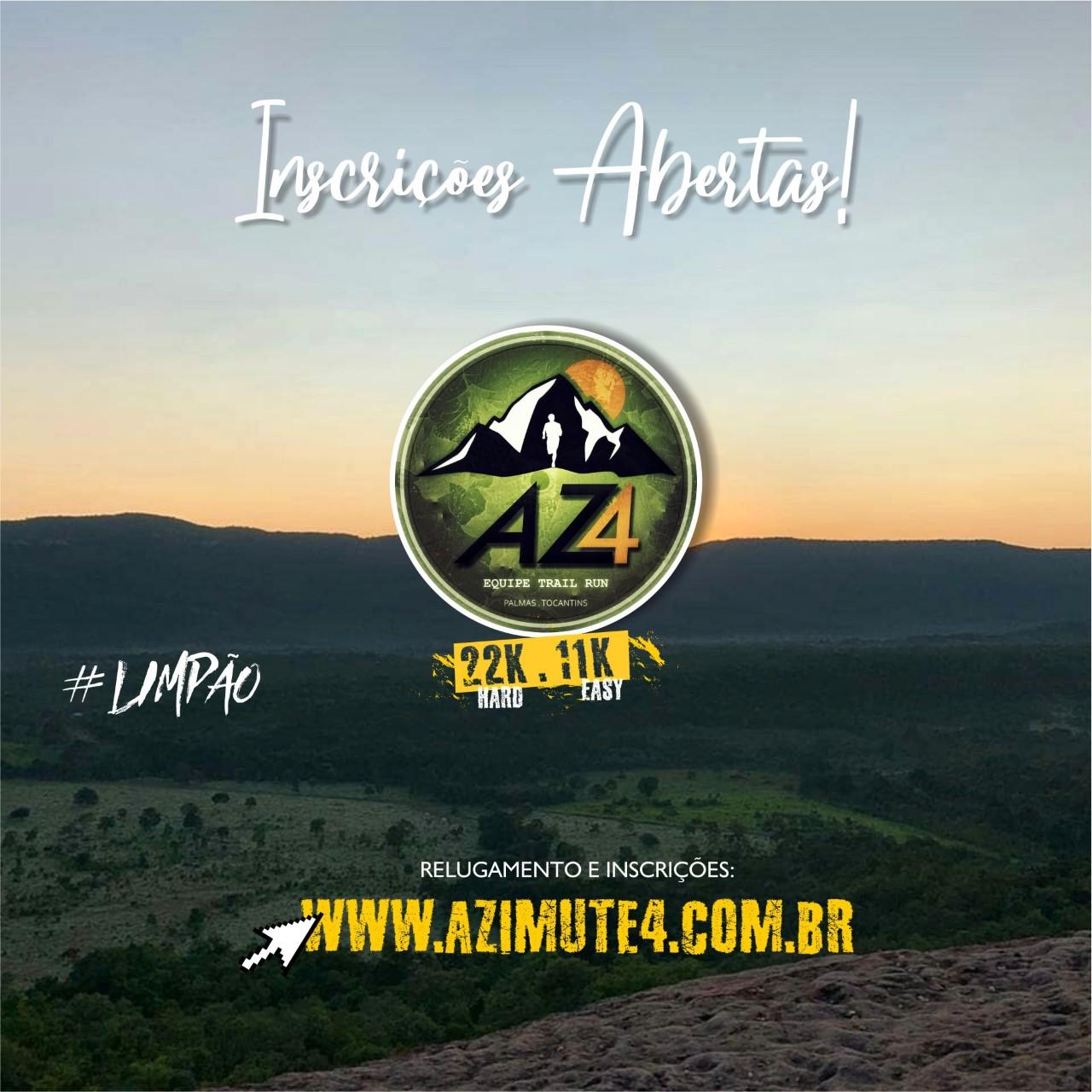 Inscrições Abertas: Palmas sediará 3º Desafio Azimute 4 Limpão