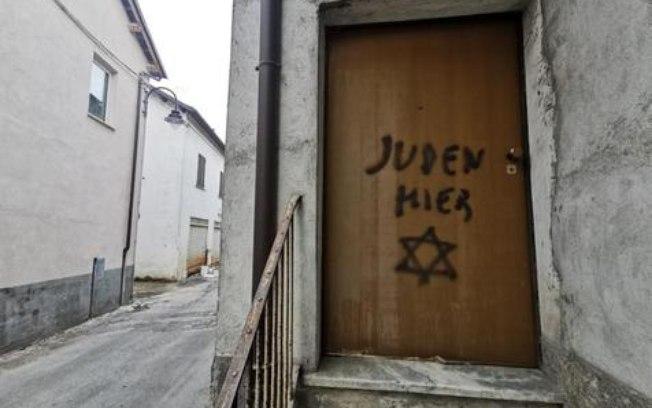 Casa de filho de vítima do Holocausto é pichada na Itália