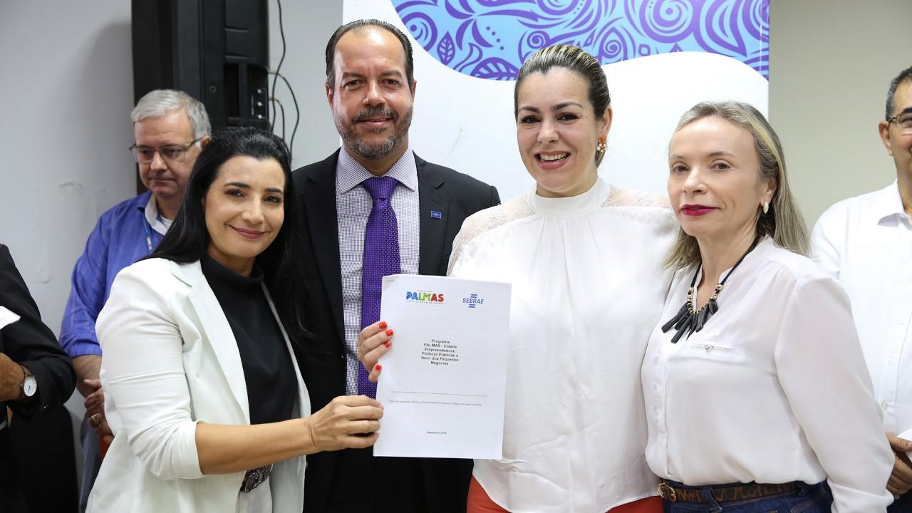 Sebrae e Prefeitura de Palmas formalizam parcerias para beneficiar pequenos negócios