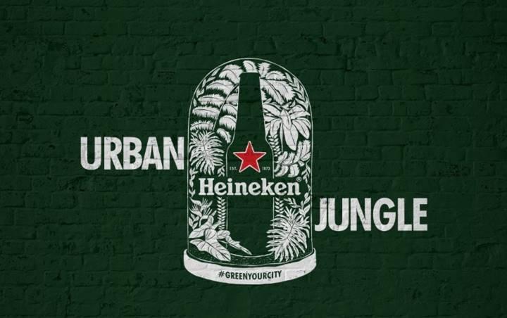 """Heineken® apresenta: """"Heineken Urban Jungle"""", projeto que reconectará as pessoas com a natureza"""