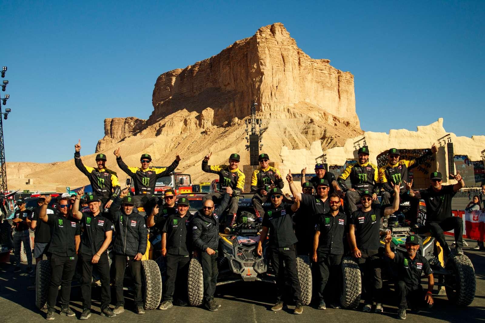 Com Casey Currie/Sean Berriman, Can-Am é campeã dos UTVs no Rally Dakar pelo terceiro ano consecutivo