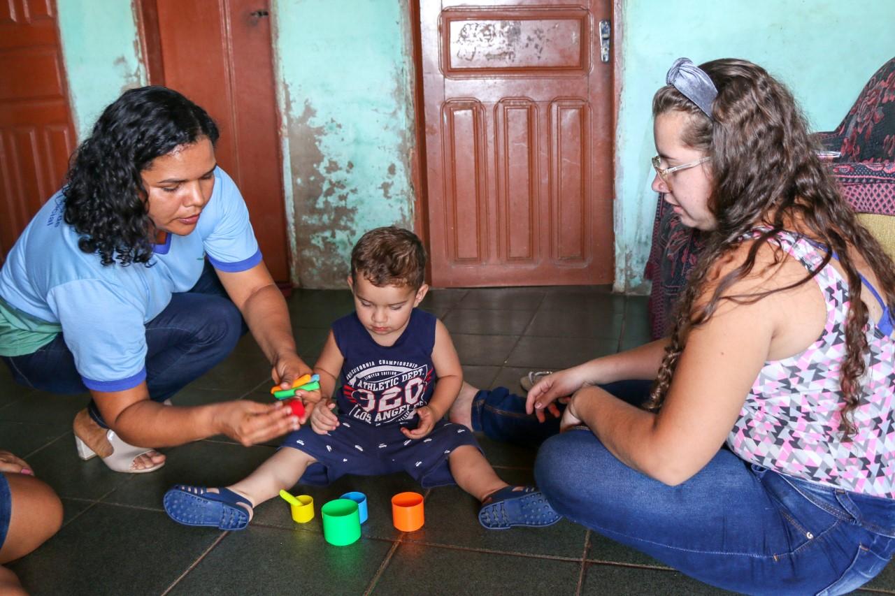 Governo  do Tocantins foca na qualidade das visitas domiciliares do programa Criança Feliz, em 2020
