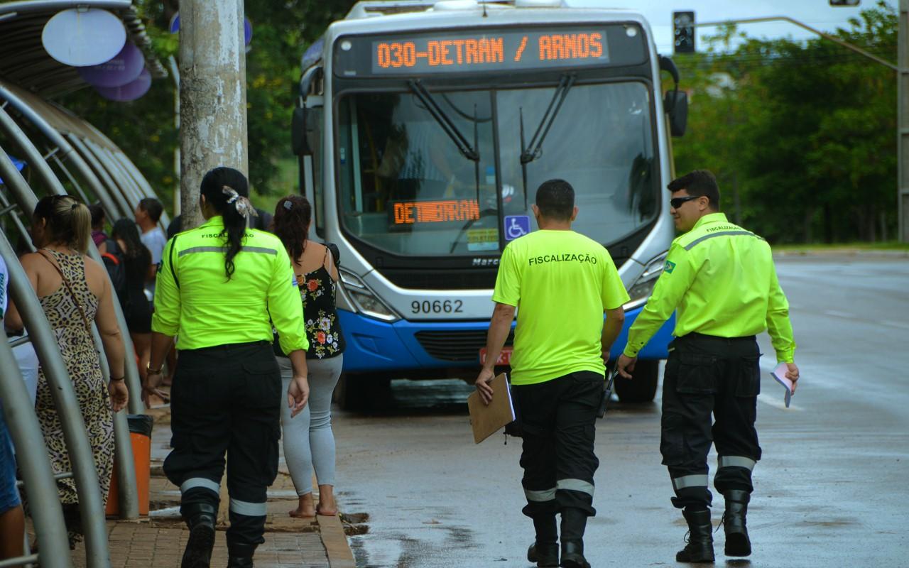 Sesmu reforça fiscalização na frota do transporte coletivo da Capital