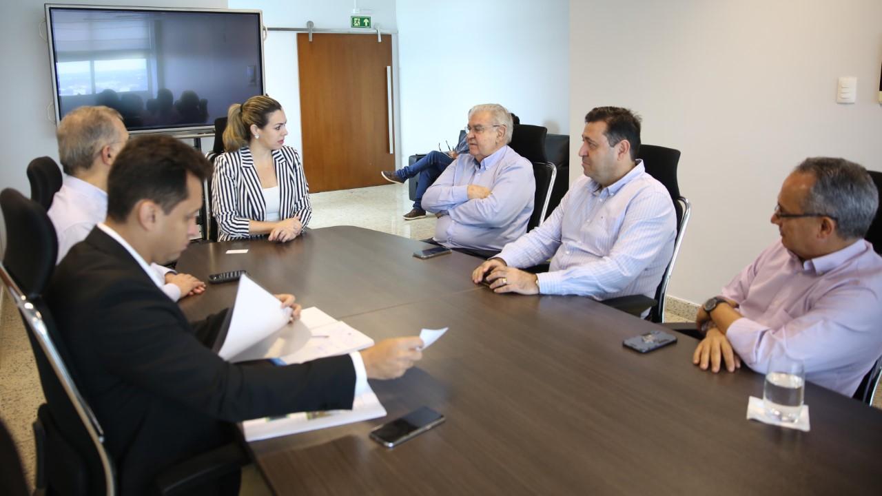 Prefeita Cinthia Ribeiro recebe representantes do Grupo Energisa