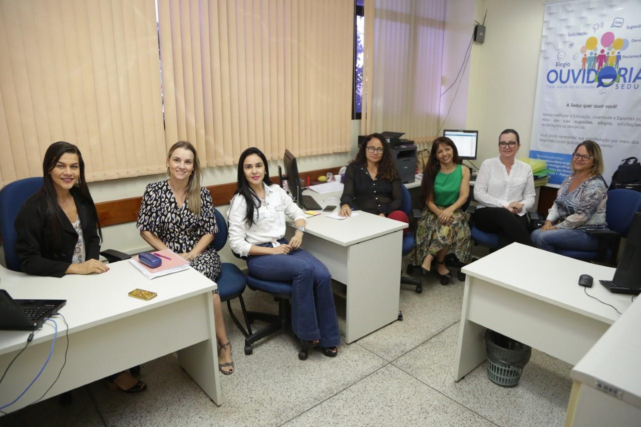 Controladoria Geral do Tocantins promove visitas técnicas a ouvidorias setoriais do Governo do Estado