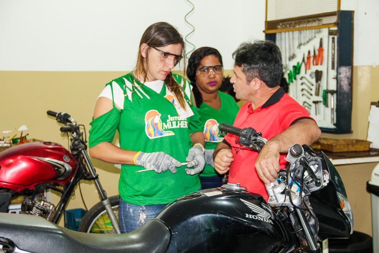 Governo do Tocantins abre inscrições para curso gratuito de Injeção Eletrônica exclusivo para mulheres na Capital