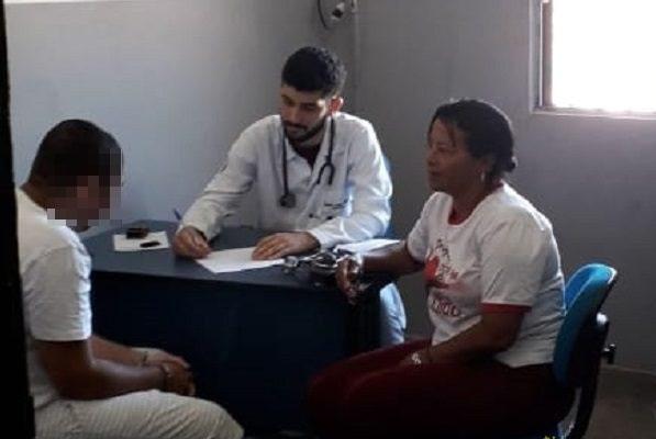 Reeducandos da Cadeia Pública de Taguatinga recebem atendimento médico dentro da unidade