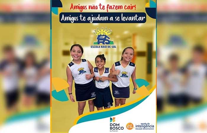 Escola Raio de Sol, em Paraíso, adere à campanha contra o 'desafio da rasteira'