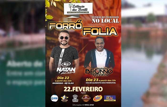 Estância dos Buritis prepara programação especial para o fim de semana de carnaval em Paraíso