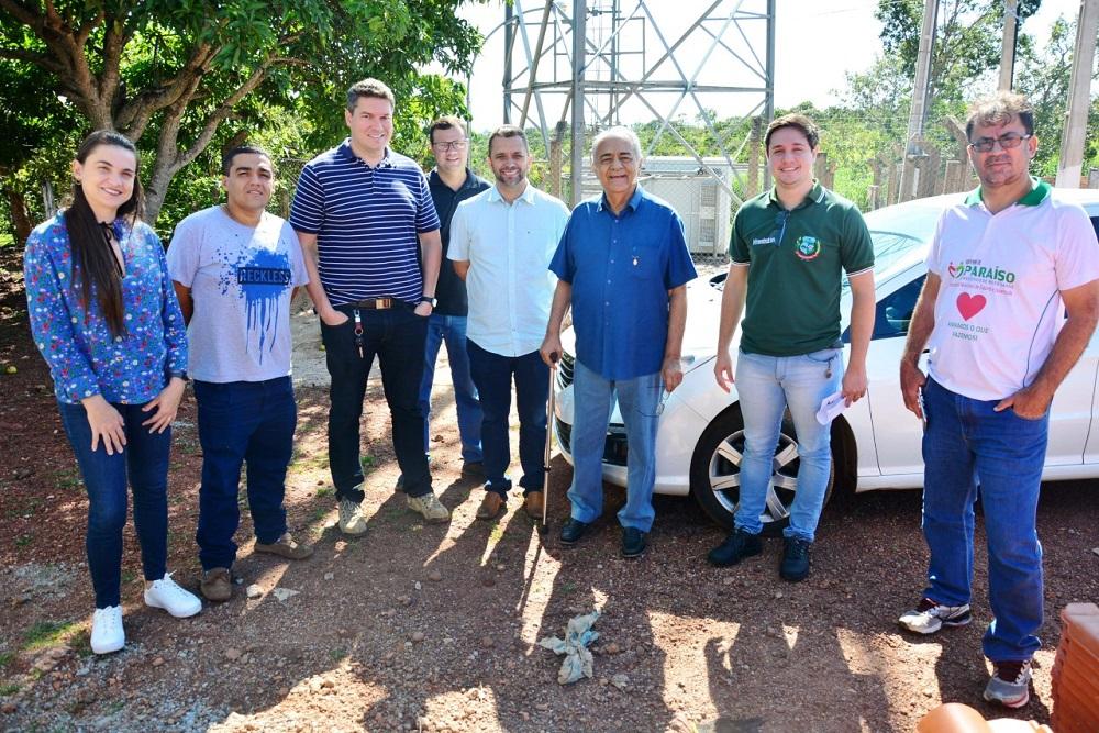Avelino visita obras de Infraestrutura Esportiva na Serra do Estrondo e Pavimentação no Setor Jardim Paulista