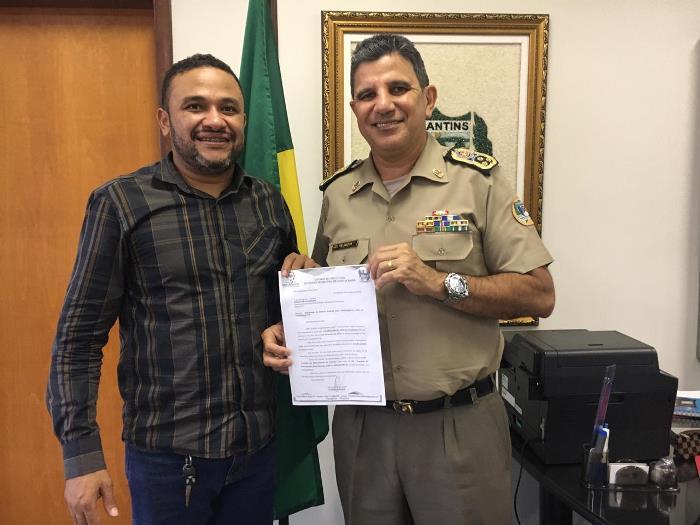 Prefeito Cleiton Batatinha pede reforço para policiamento de Cristalândia durante o carnaval