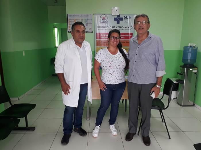 Prefeito de Pium visita comunidade da vila Café da Roça