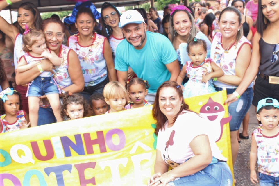 Ensino Municipal de Cristalândia trabalha com alunos o tema Carnaval durante semana que antecede o feriado