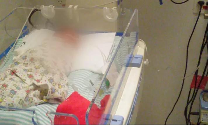 Caso raro: Bebê nasce sem ânus e família aguarda por cirurgia urgente, em MS