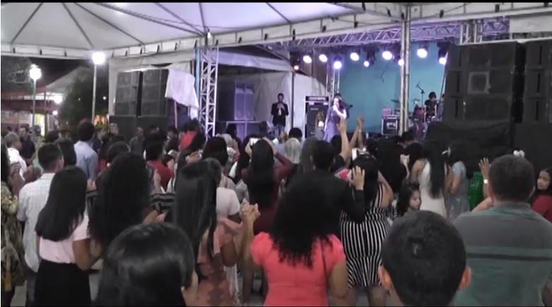 Programação evangélica encerra comemoração do 29º aniversário de Tabocão